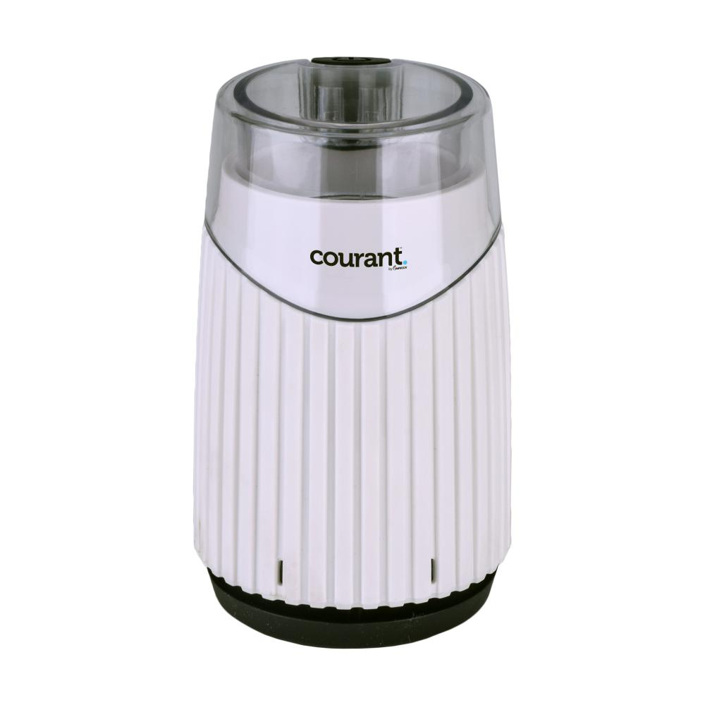 Courant Coffee Mill Coffee, Beans & Spices Grinder, White
