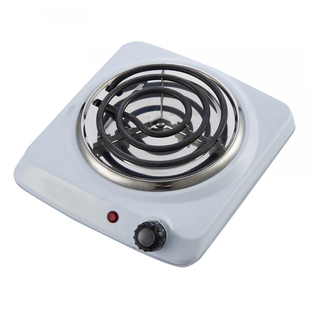 COURANT ELECTRIC SINGLE BURNER, WHITE