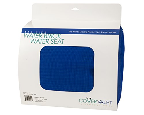 Pillow, Covervalet, Waterbrick Seat Cushion, Blue