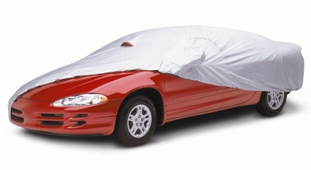 Car Cover - SILVERTECH® - Ideal Protection Against Sun & Heat Damage - BETTER - Silver