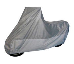 Motorcycle Cover- Heat Shield - Size MC-D - Silver Top / Silver Bottom