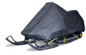 Deluxe Black Knight™ Snowmobile Cover - Size L
