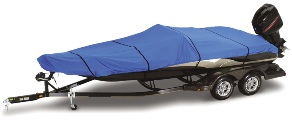 Deluxe Blue Sea™ Boat Cover - Size M-E - Royal Blue