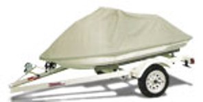 Deluxe Polycotton Canvas Personal Water Craft Cover - PWC-B - Grey