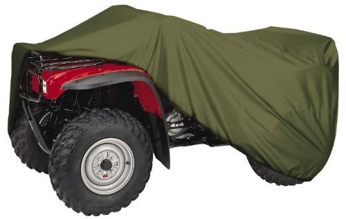 ATV COVER TEXLON OLIVE GREEN LARGE
