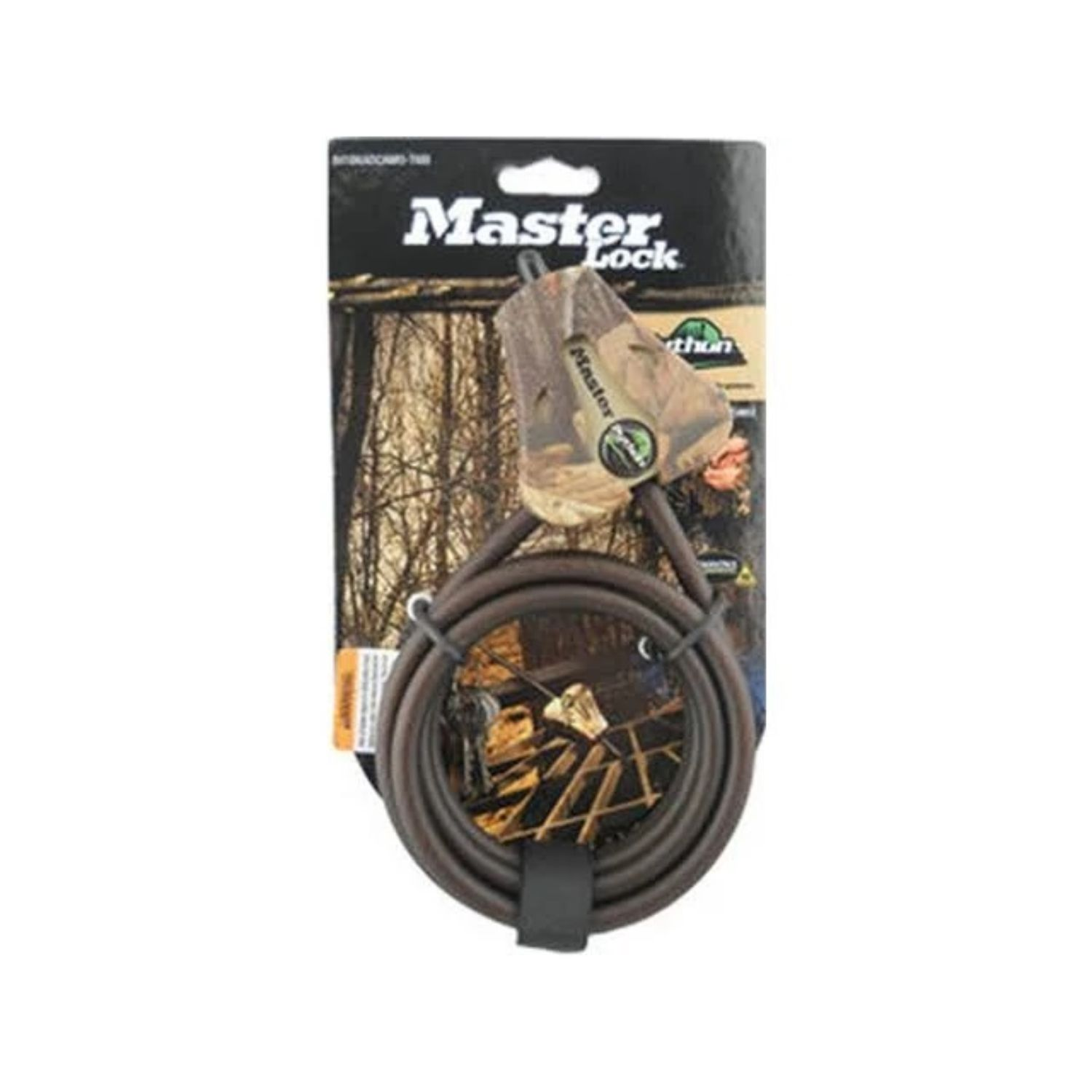 Covert 0.3125 in Master Lock Security Cable Camo Case of 4