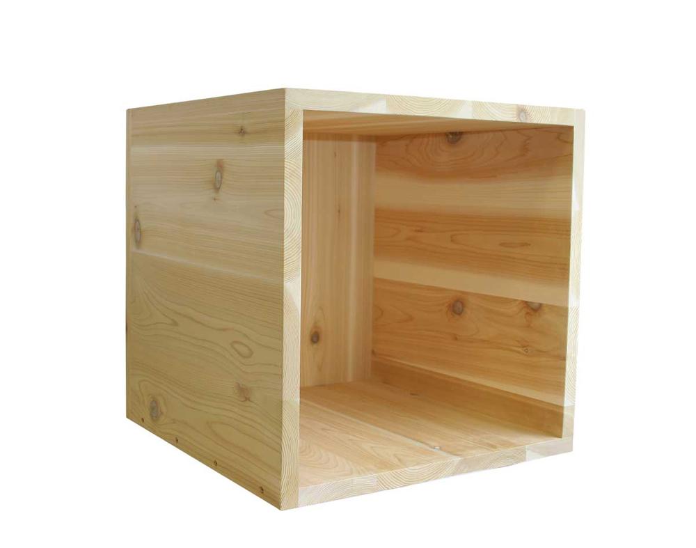 """18"""" x 18"""" Cedar Cube"""