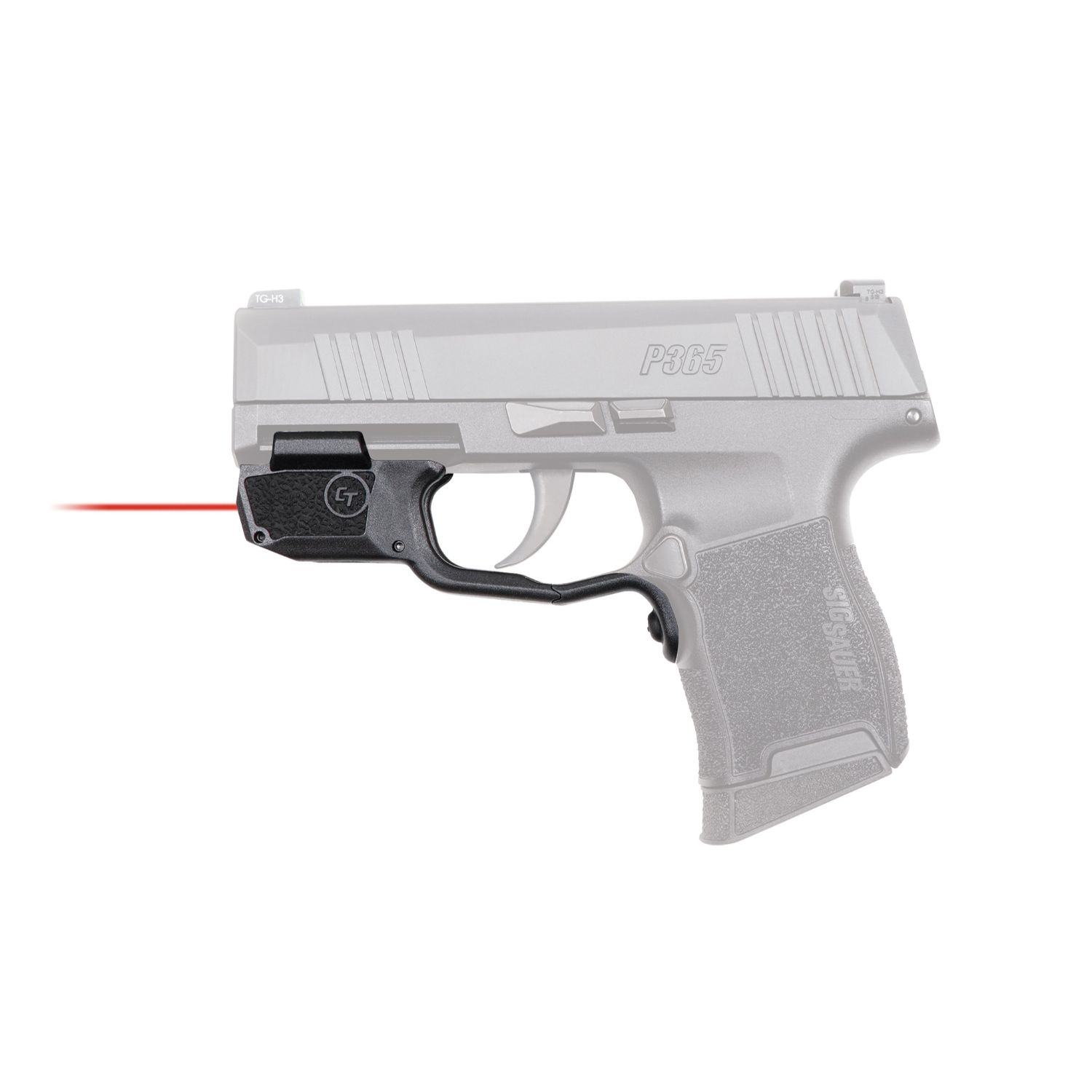 Crimson Trace LG-422 Red Laser Sight for Sig Sauer P365