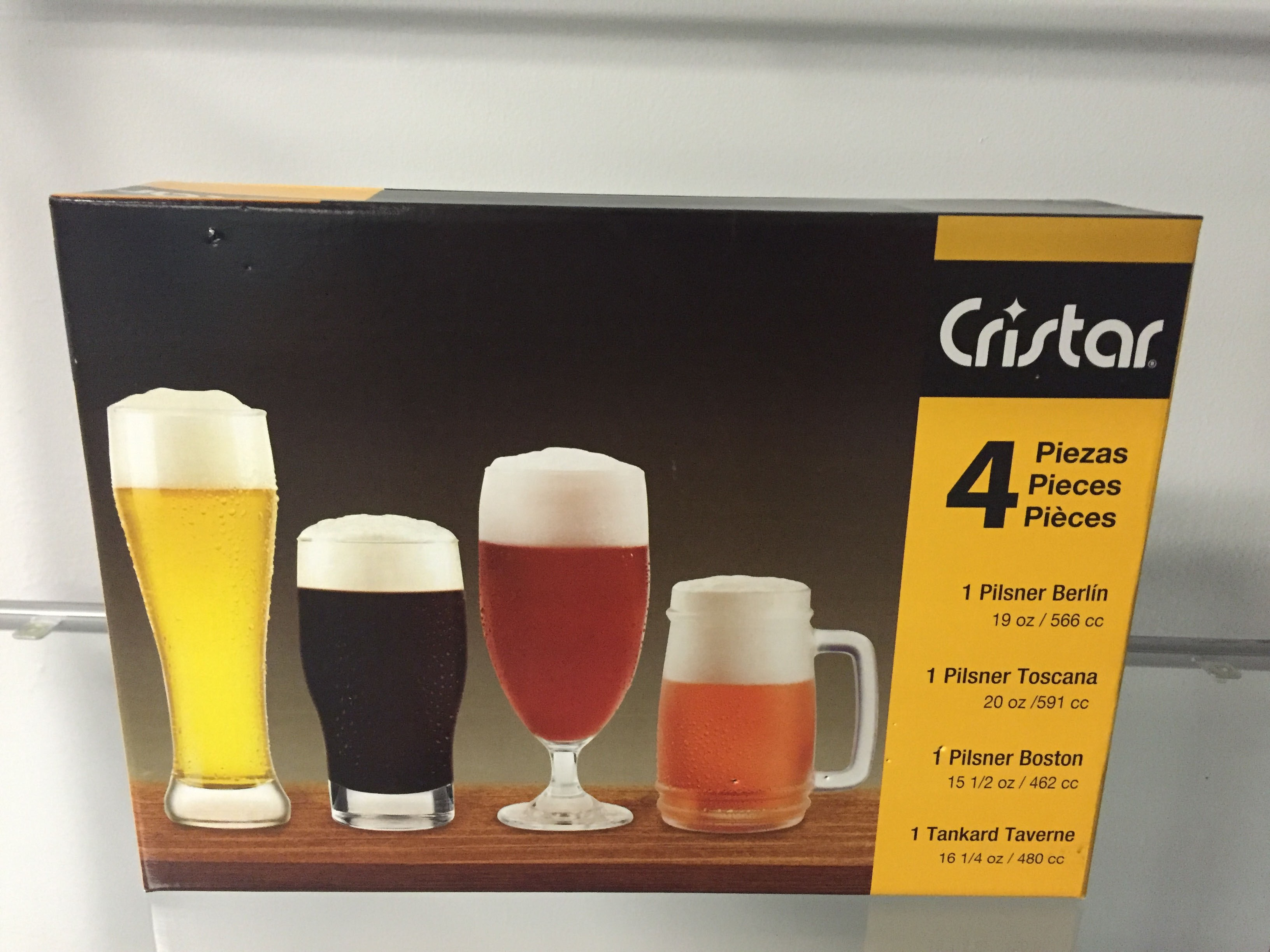 Craft Beer 4 pk Set