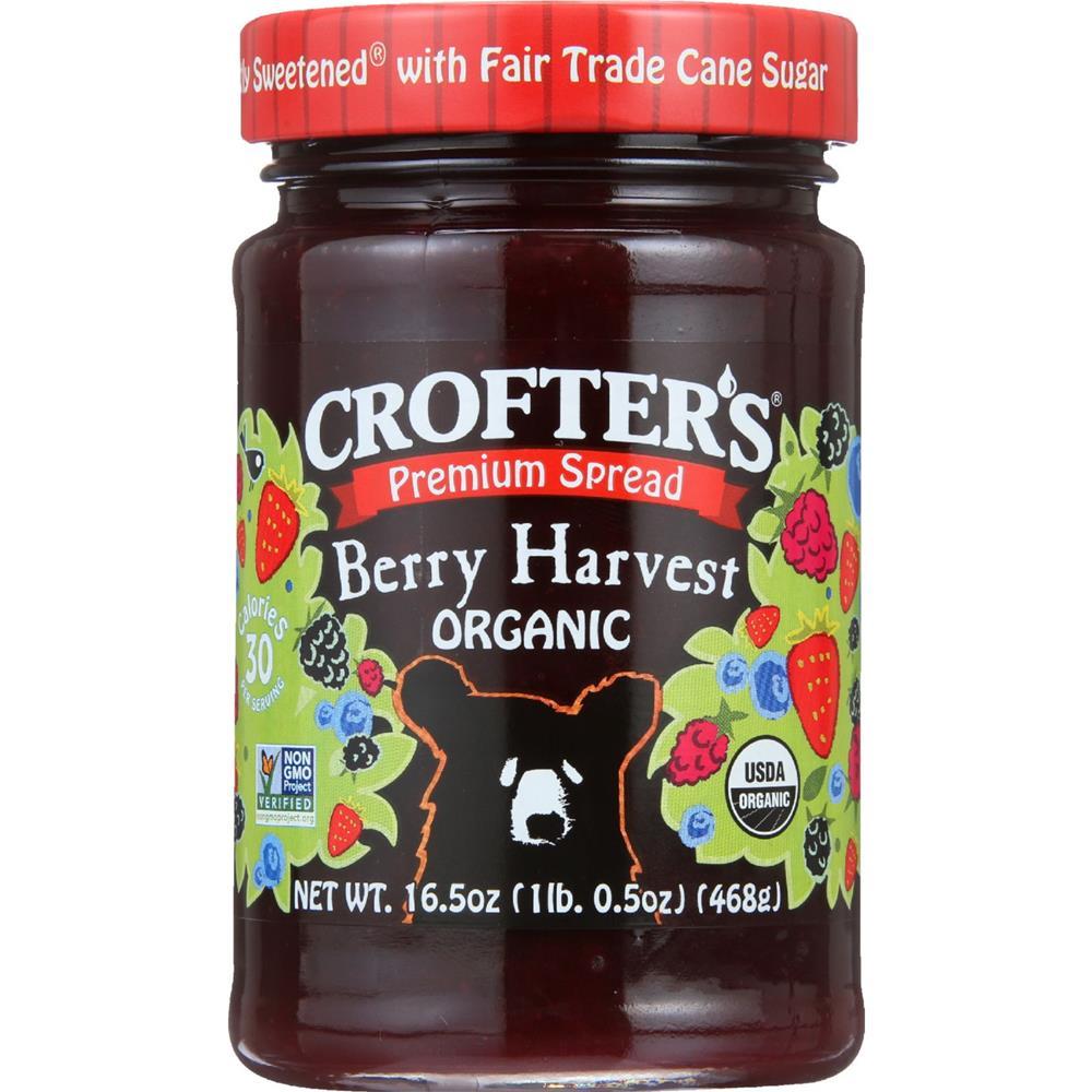 Crofter's - Premium Berry Harvest Spread ( 6 - 16.5 OZ)
