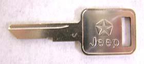 Igniton Blank Key