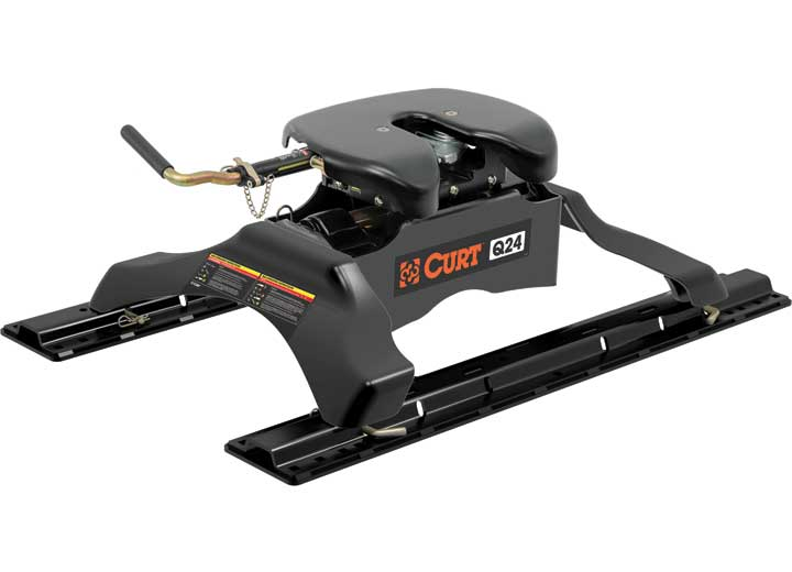 (KIT)FIFTH WHEEL HITCH Q24K WITH LEGS AND RAILS