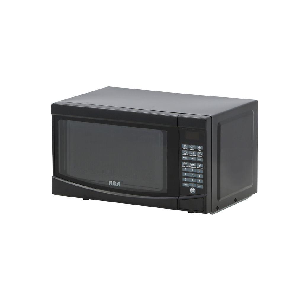 RCA 0.7 CU Ft Microwave Oven Black