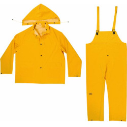 3PC RAIN SUIT YELLOW 3XL