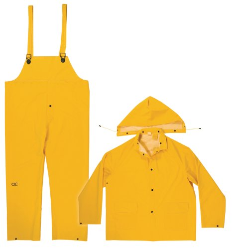 3PC RAIN SUIT YELLOW 4XL