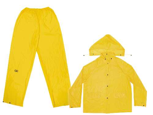 3PC RAIN SUIT 2X-LARGE