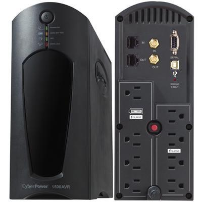 1500VA/900W UPS w/PowerPanel