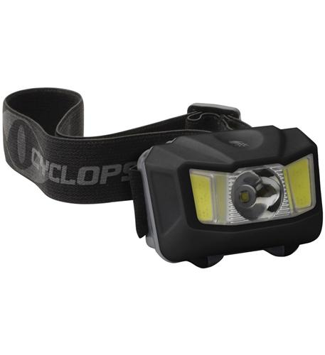 250 Lumen Headlamp w Green COB LED