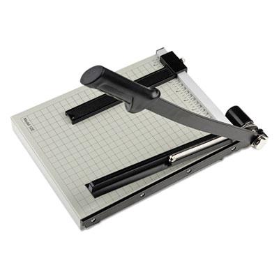 "Vantage Guillotine Paper Trimmer/Cutter, 15 Sheets, 12"" Cut Length"