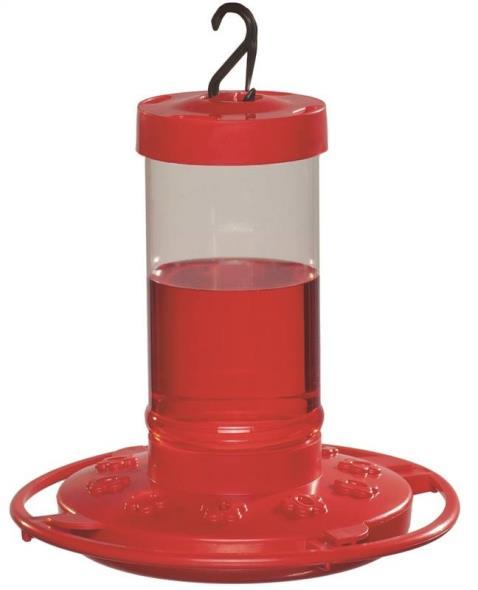 Daisy 993051-546 Hummingbird Feeder, 16 oz Capacity, Plastic, Red