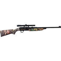 Daisy 4841 Single-Stage Trigger Grizzly Air Rifle, Fiber Optic Front Sight, Adjustable Rear Sight, 350 fps Muzzle