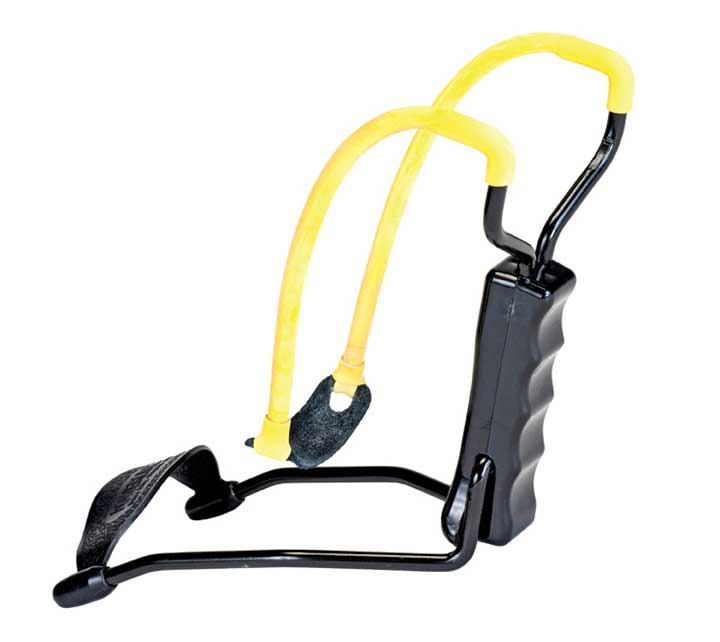 Daisy B52 Slingshot Yellow Black 8 Inch