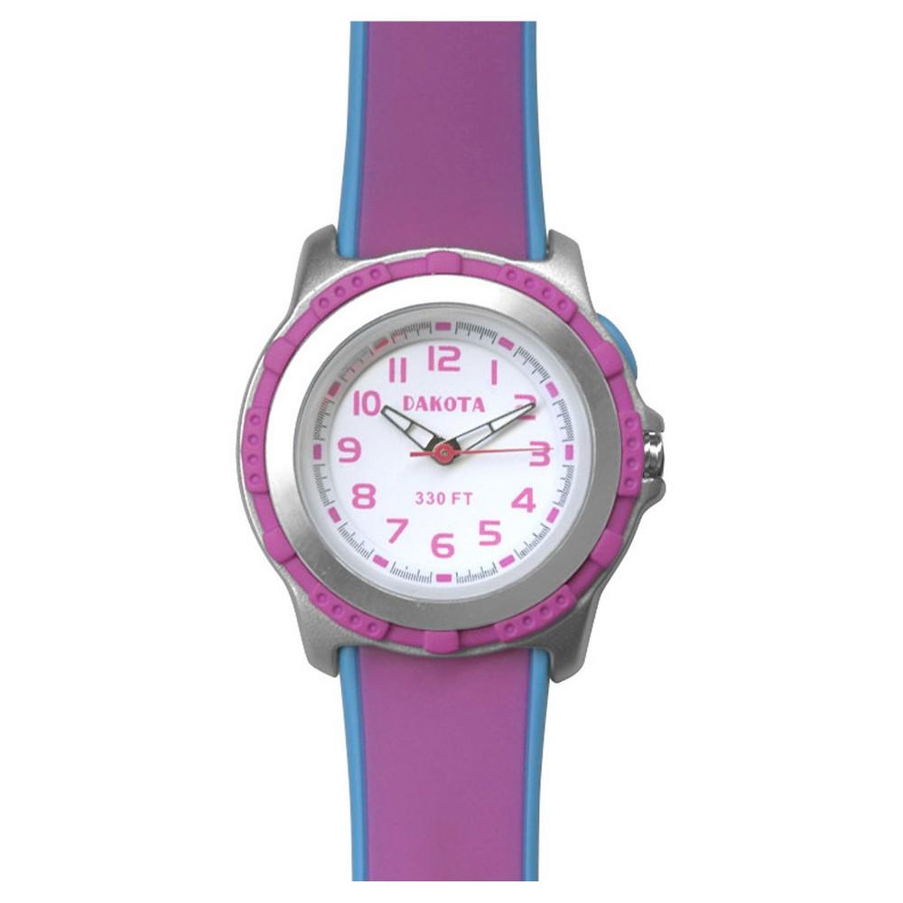 Dakota Kid's Mini Stingray El Watch, Pink