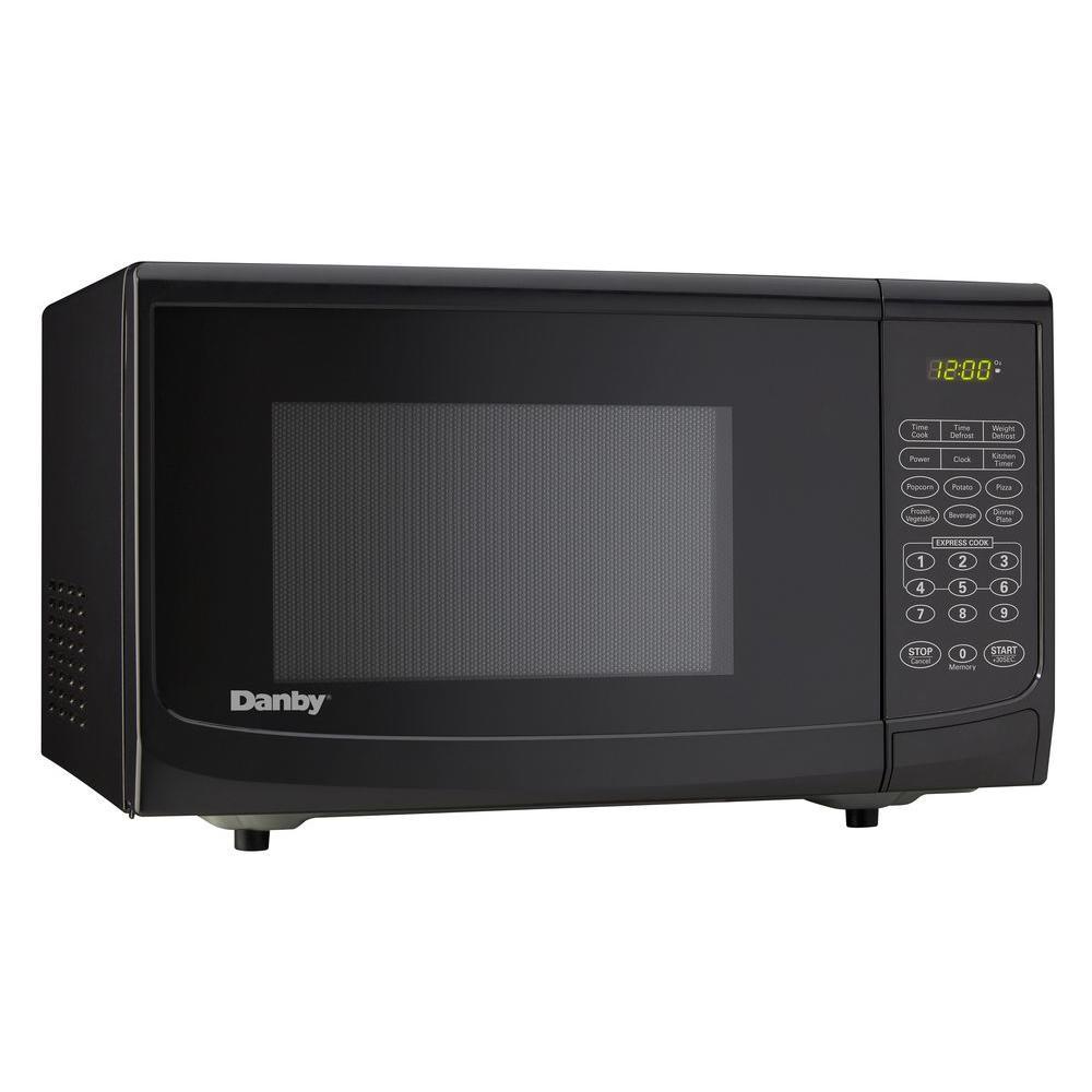 0.7 Cu. Ft. Countertop Microwave, Black