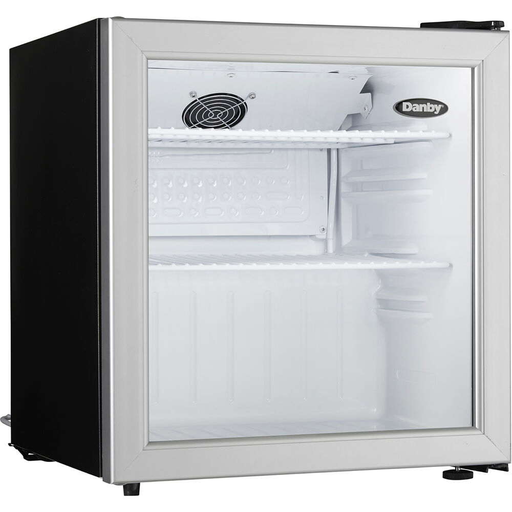 1.6 CuFt. Commercial Rated Glass Door Compact All Refrigerator