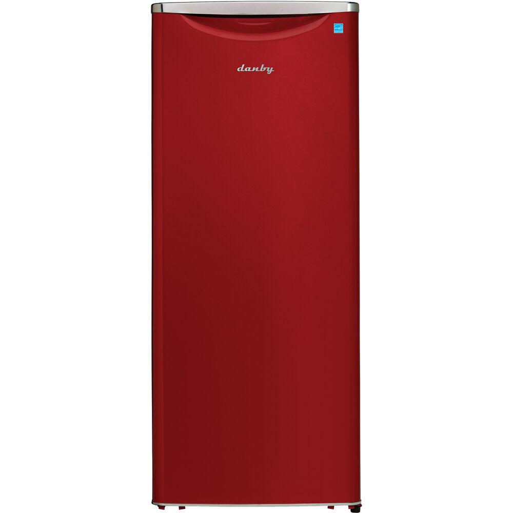 11 CuFt. All Refrigerator, All Black Interior, See-Through Crisper