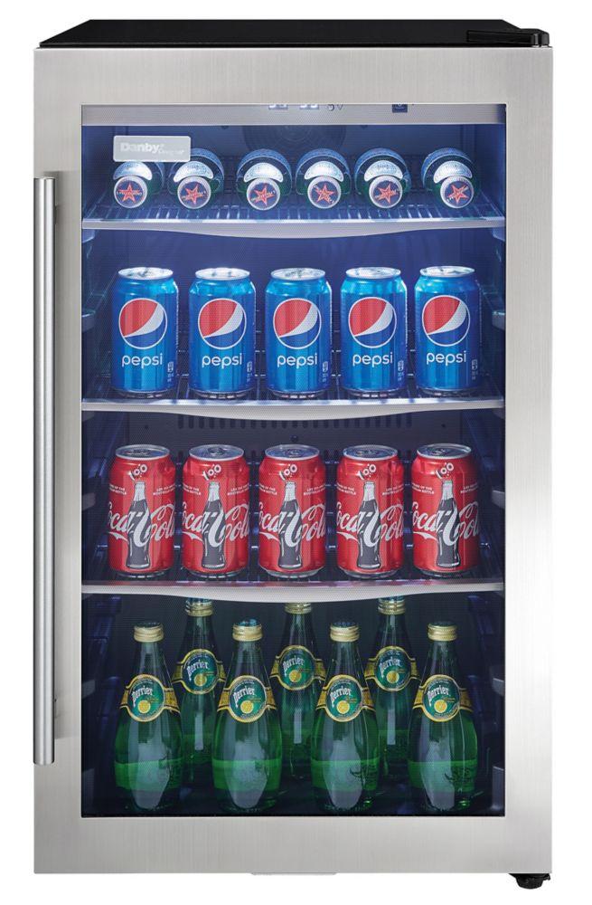 4.34 CuFt Beverage Center, Towel Bar Handle, Door Ajar Alarm