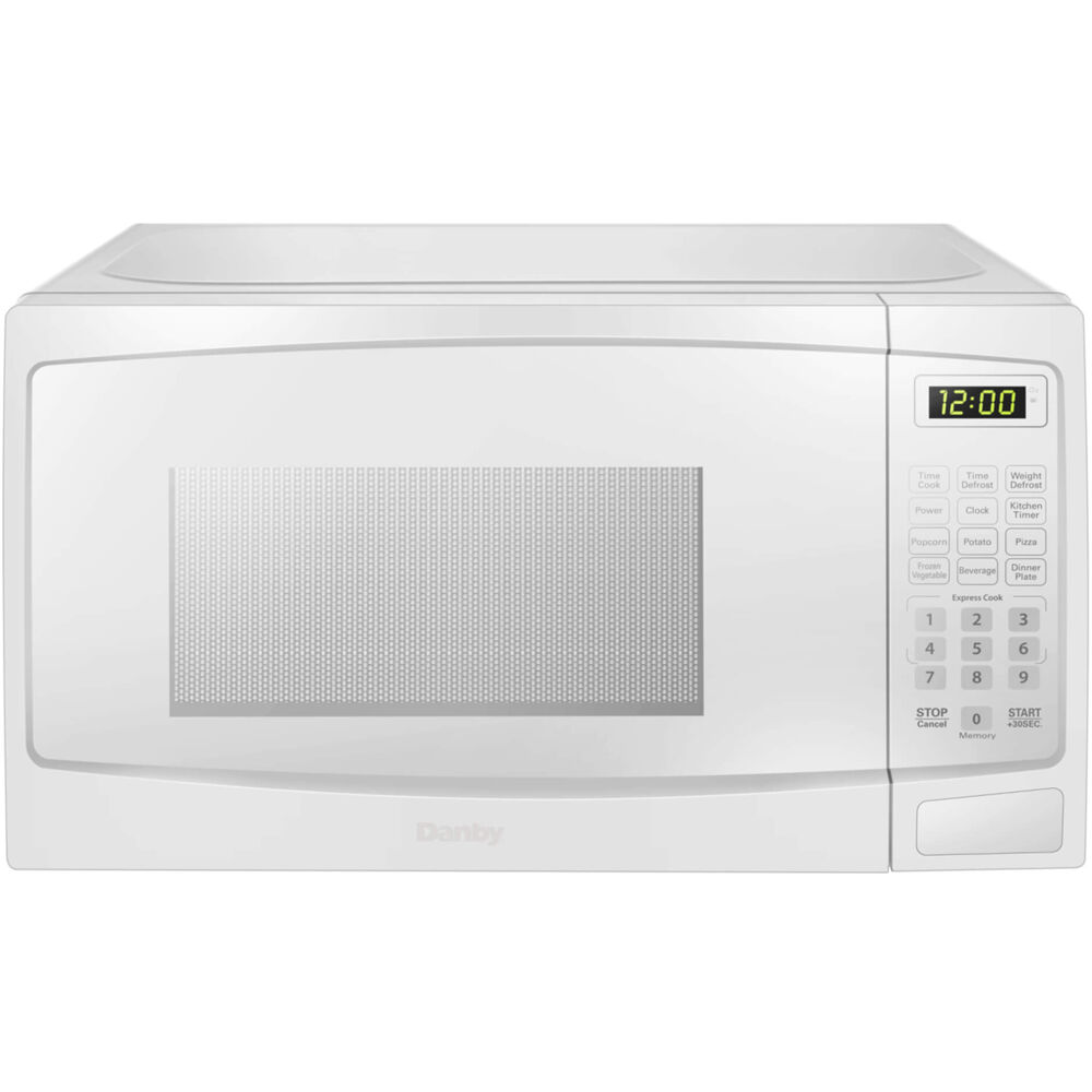 0.7 cuft Countertop Microwave, 700 Watts, 10 Power Levels