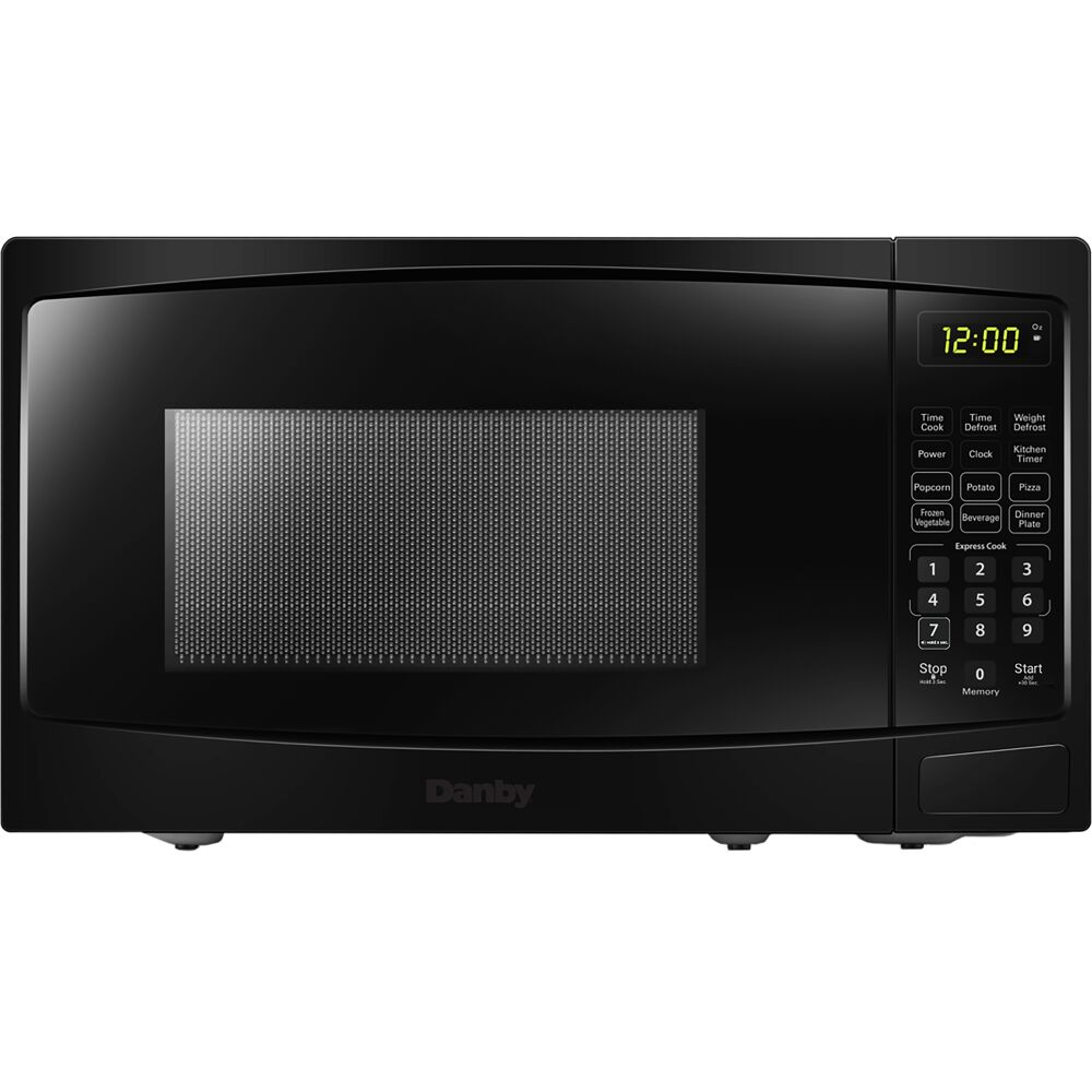 0.9 cuft Countertop Microwave, 900 Watts, 10 Power Levels