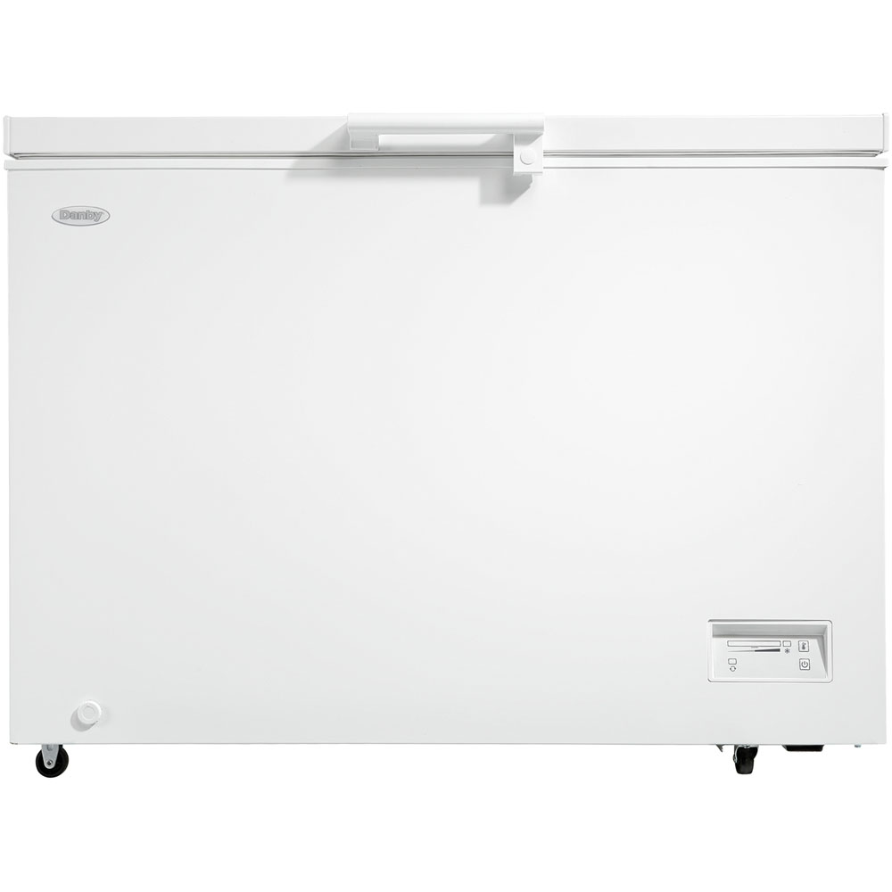 11.0 cuft Chest Freezer, 1 Basket, Up Front Temperature Control