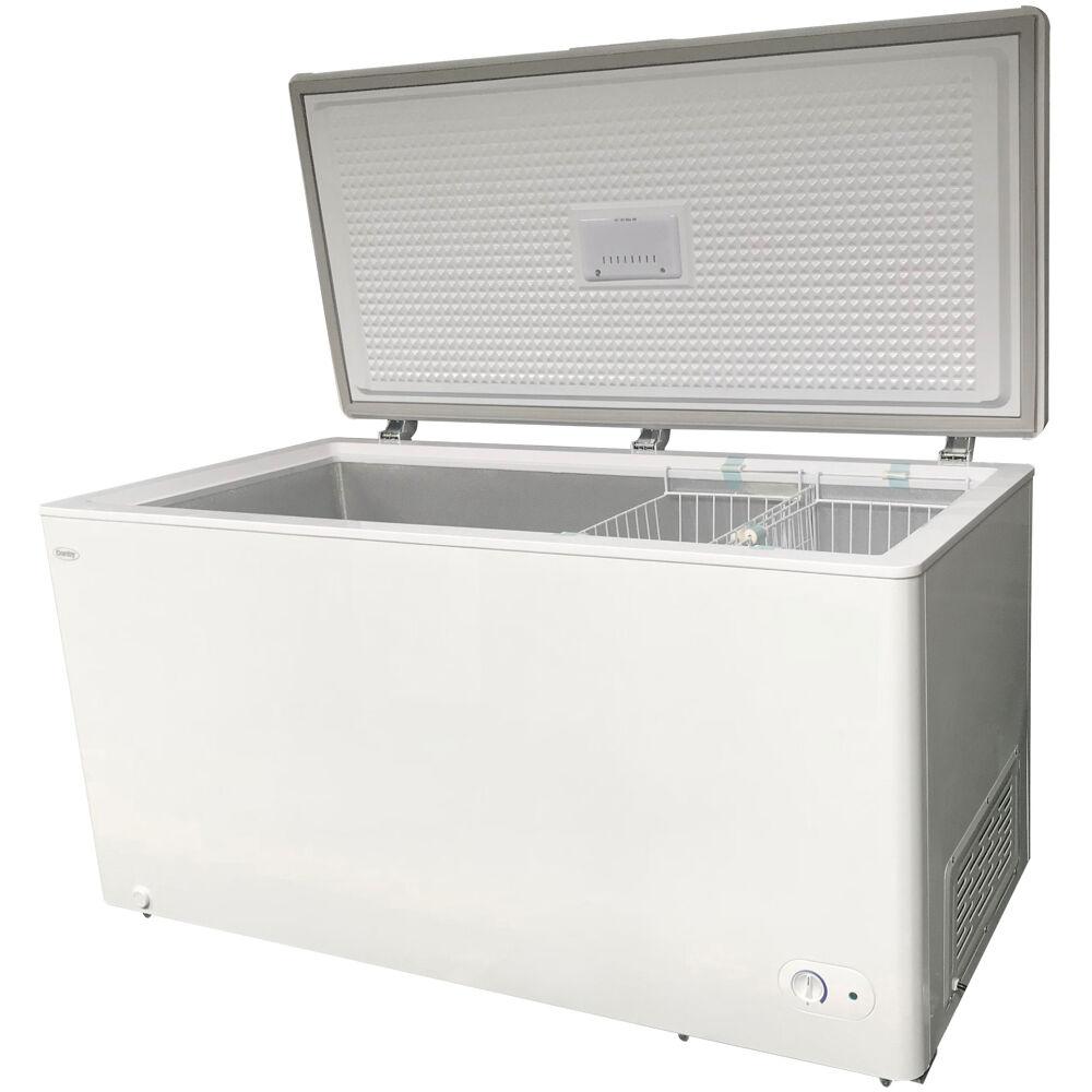 14.5 cuft Chest Freezer, 2 Basket, Up Front Temperature Control