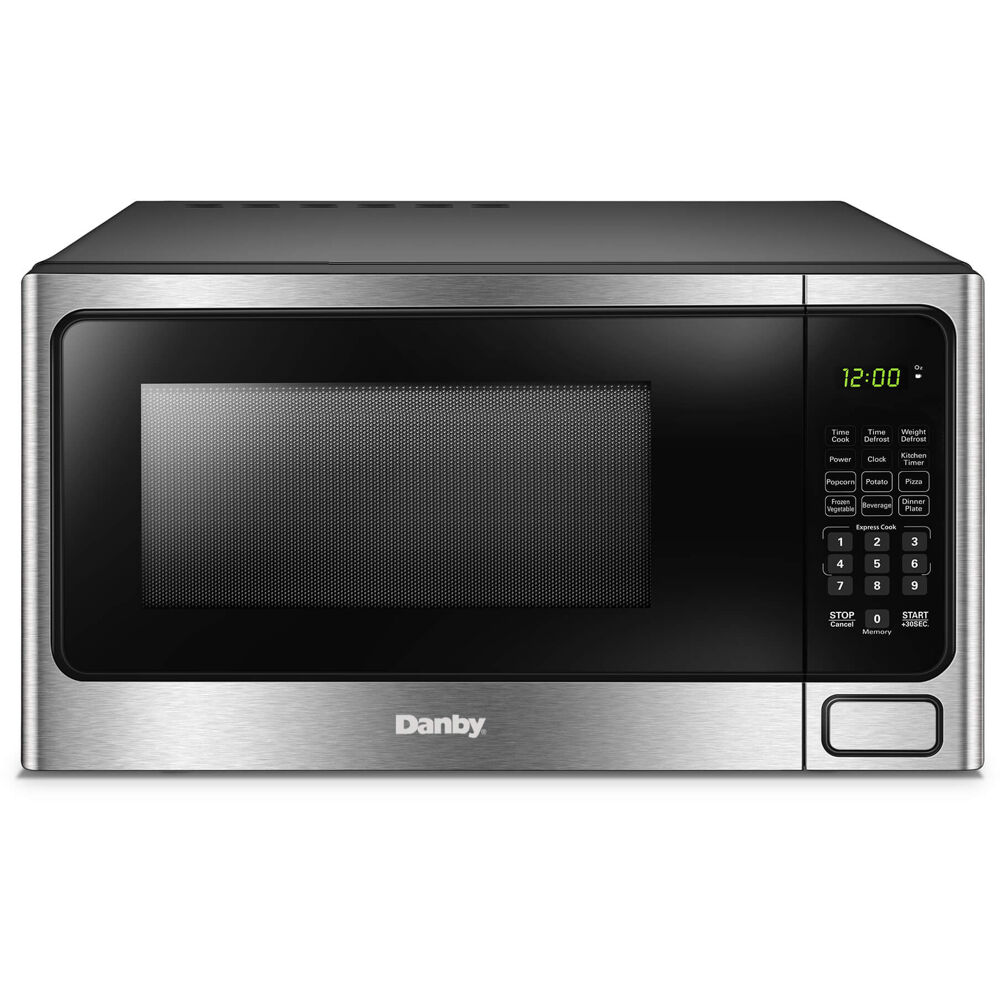 1.1 cuft Countertop Microwave, 1000 Watts, 10 Power Levels