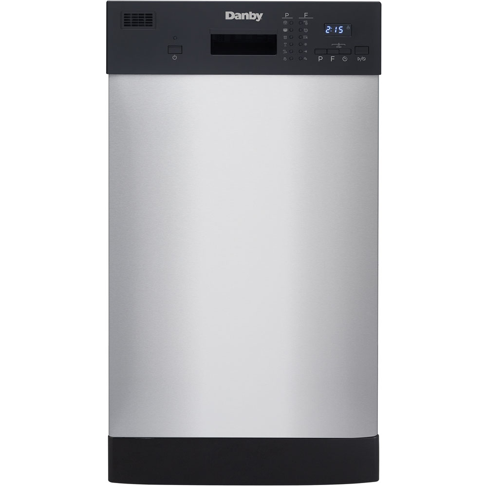 """18"""" Built-In Dishwasher, Holds 8 Place Settings, SS Interior"""