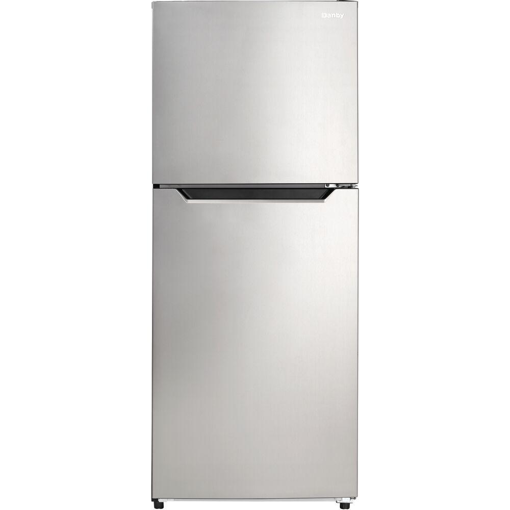 10.1 CuFt. Refrigerator, Glass Shelves, Crisper, Frost Free