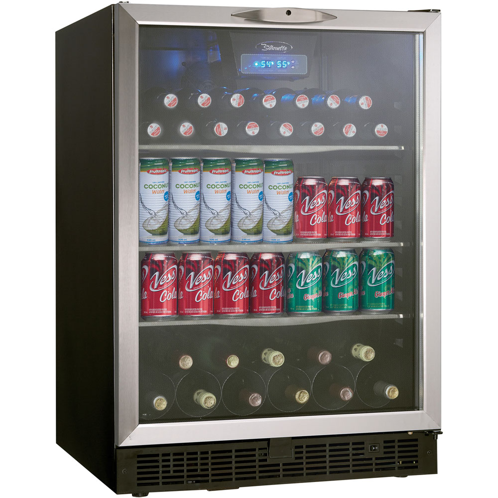 Beverage Center, Hold 11 Bottle on Wine and 112 Beverage Cans