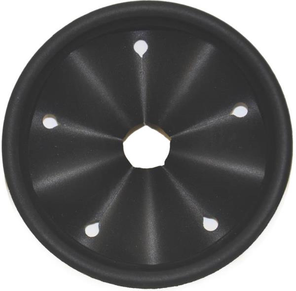 Danco 10428 Disposal Splash Guard, For Use With Garbage Disposals, Plastic, Black