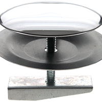 Danco 88952 Faucet Hole Cover, For Use With All Standard Sinks, 2 in Dia, Chrome