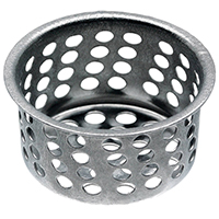 STRAINER BASKET 1-1/32IN CHRM
