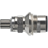 Danco 3H-10HC Faucet Stem, For Use With Price Pfister Model 3H-10H/C Faucet, Metal, Chrome