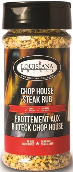 Louisiana Grills 50513 Chop House Steak Rub, 5 oz