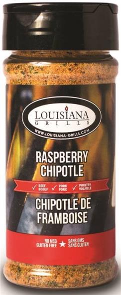 Louisiana Grills 50518 Raspberry Chipotle Rub, 5 oz