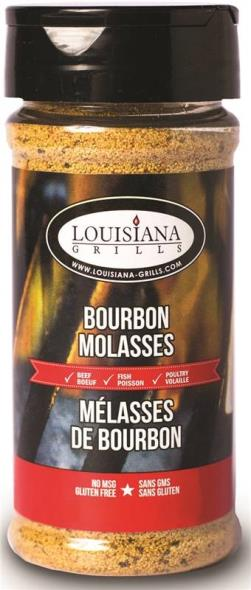 Louisiana Grills 50520 Bourbon Molasses Rub, 5 oz