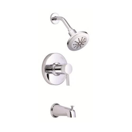 1 Handle Trim Tub and Shower Pressure Balance Diverter Spout 2.5 GPM