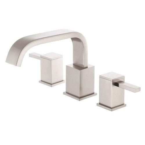 2 Handle Roman Tub Faucet Trim Reef Polished Chrome