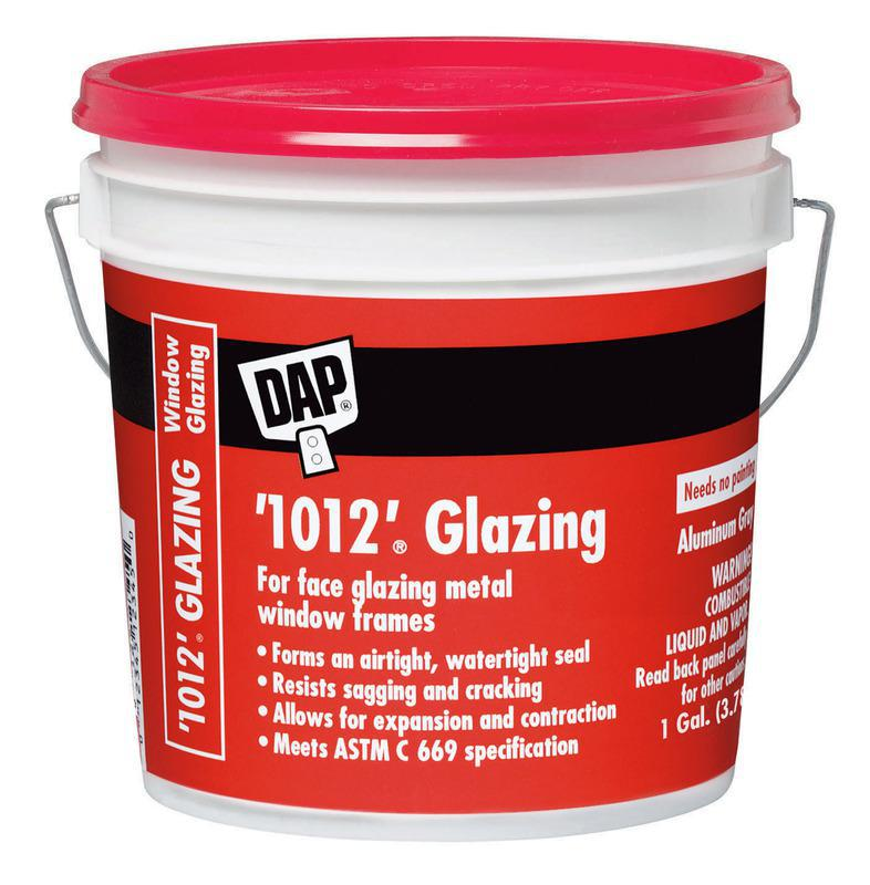 DAP® '1012'® 1 Gallon Glazing Compound, Aluminum Gray