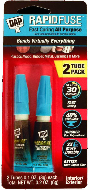00158 2PK AP RAPID FUSE GLUE
